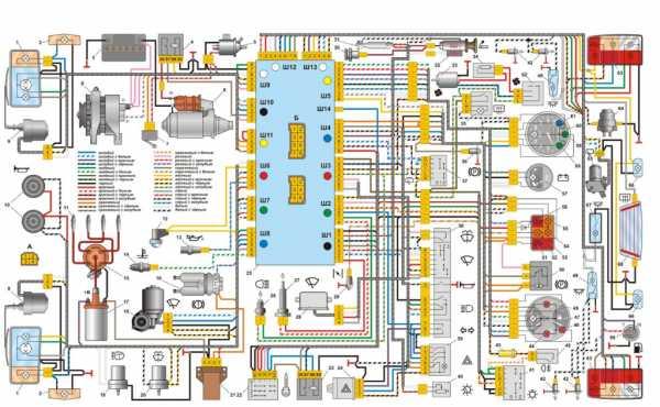 Схема подключения инжектора ваз 2107 фото 376
